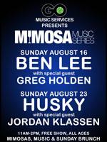 Mimosa Music Ben Lee