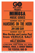Mimosa Music Mansions on the Moon