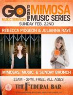Mimosa Music Rebecca Pidgeon