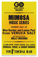 Mimosa Music Veruca Salt